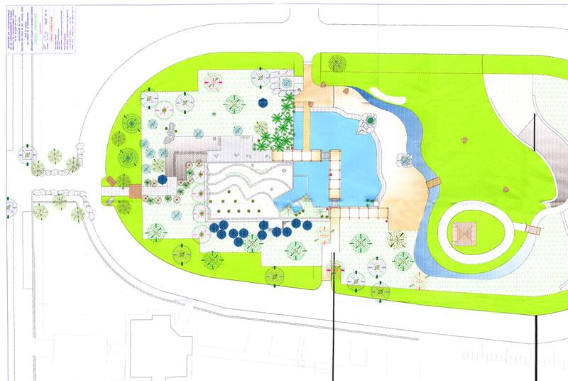 Municipalit de tunis for Plan jardin japonais